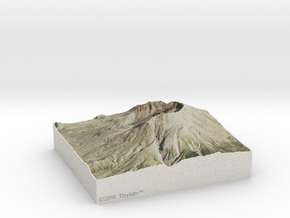 Mt. St. Helens, Washington, USA, 1:50000 in Full Color Sandstone