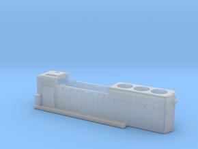 BO4322–4351 GP40-2 Hood 1/87.1 in Smoothest Fine Detail Plastic