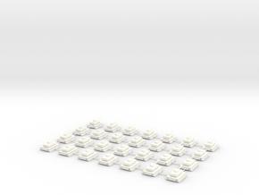 Tank in White Processed Versatile Plastic