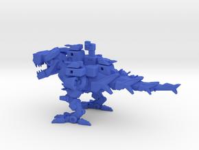 Battlesaurus in Blue Processed Versatile Plastic