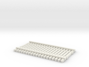 TT (1:120) BridgeTrack 20' x 12' Wide in White Natural Versatile Plastic