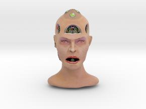 Alienhead in Full Color Sandstone