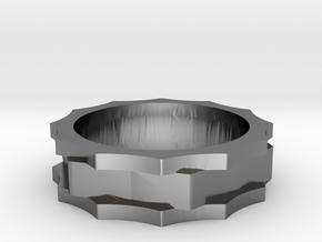 Gears SZ 8 US in Premium Silver