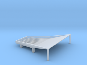 Cone Shake Tray 6t Fixed in Smooth Fine Detail Plastic