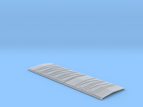 EV Roof Non-overhanging Blank A in Smooth Fine Detail Plastic