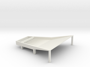 Cone Shake Tray 8t Fixed in White Strong & Flexible