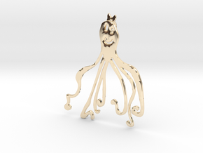 OCTOPUS in 14k Gold Plated