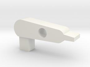 Flatnub Hopup Prowin v1 in White Natural Versatile Plastic