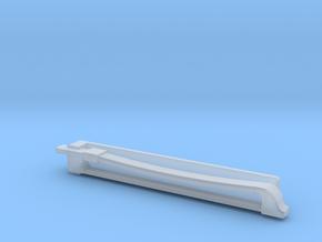 Violin Bow Tiepin in Smooth Fine Detail Plastic