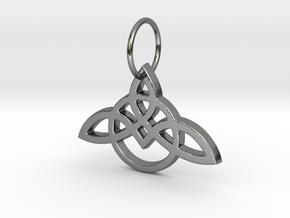 Celtic Knot Pendant in Premium Silver