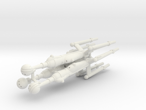 Invader Advanced Destroyer Trio in White Natural Versatile Plastic