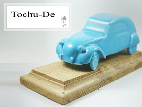 Toys for big boys 2cv in Gloss Blue Porcelain