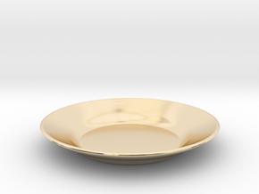 Dish in 14K Yellow Gold