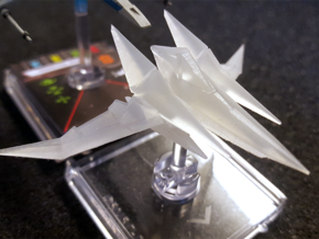 Arwing for X-wing TMG in Smooth Fine Detail Plastic