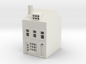 RHS-3 N Scale Rye High Street building 1:148 in White Strong & Flexible