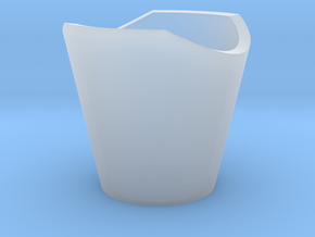 Mini BR Neck Cone II in Smooth Fine Detail Plastic