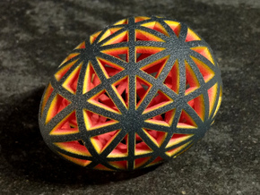 Mosaic Egg #9 in Full Color Sandstone