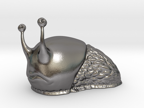 Where's ma house? said Sam the Slug in Polished Nickel Steel