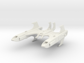 CR Carrier in White Natural Versatile Plastic