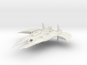 CR Advanced Battleship in White Strong & Flexible