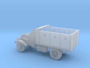 Lancia Armoured Truck 1921 (15mm 1:100 scale) in Smooth Fine Detail Plastic