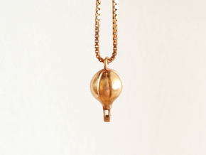 Air Balloon Pendant in Raw Bronze
