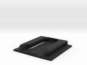 Micro SD Pouch in Black Natural Versatile Plastic