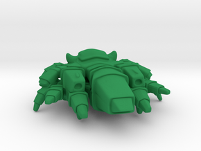 Planta Dreadnought (Eclipse) in Green Processed Versatile Plastic