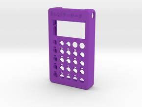 PO-20 case front in Purple Processed Versatile Plastic
