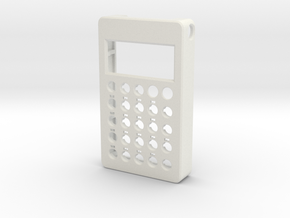 PO case front in White Natural Versatile Plastic