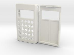 PO case in White Natural Versatile Plastic