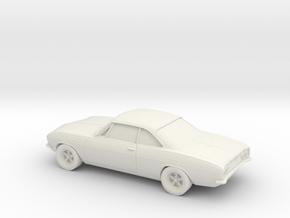 1/87 1969 Chevrolet Corvair in White Natural Versatile Plastic
