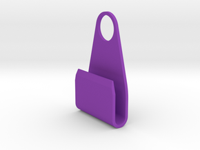 SmartPhone charging support in Purple Processed Versatile Plastic