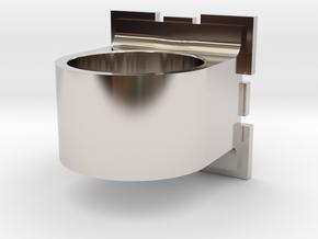 Compainion Cube Ring in Platinum