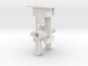 Signal Mech - 4 Arm in White Natural Versatile Plastic