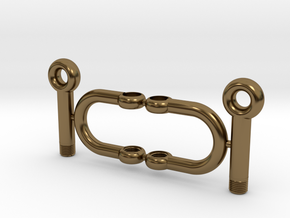 Jewelry-Shackles-M5 in Polished Bronze
