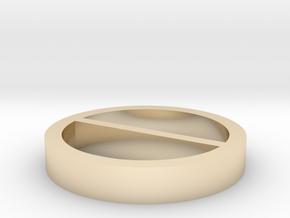 Multisegment (1) in 14k Gold Plated Brass