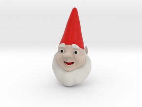 GnomeChild Head in Full Color Sandstone