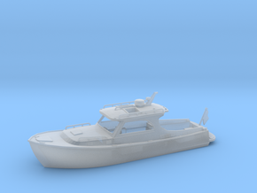 Yatch 01.HO Scale (1:87) in Smooth Fine Detail Plastic