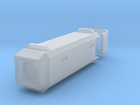 Long Box, small in Smooth Fine Detail Plastic
