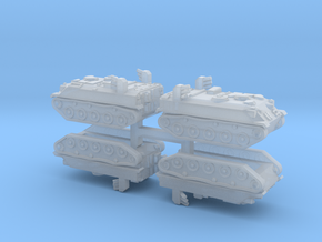 1/350-Scale JGDSF Type 60 APC (4pcs) in Frosted Ultra Detail