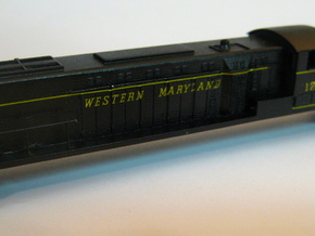 N scale Baldwin DRS 4-4-1500 in Smooth Fine Detail Plastic