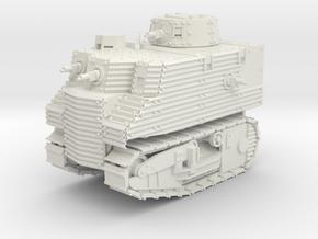 Bob Semple Tank (15mm) in White Natural Versatile Plastic