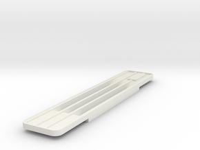Volvo FM Grille 1/24 in White Natural Versatile Plastic