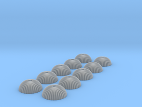 1/400 scale army parachute para Fallschirm 10 of in Frosted Ultra Detail