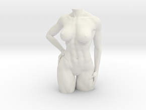 fitness Body in White Natural Versatile Plastic