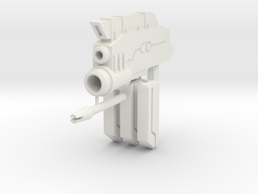 1/100 Beam SMG in White Natural Versatile Plastic