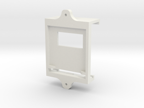 Starplat - Mounting Plate in White Strong & Flexible