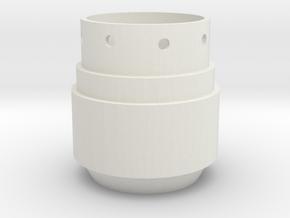 Saber 1 Pommel in White Natural Versatile Plastic