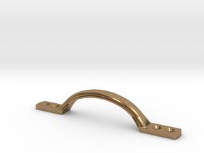 1/6 Scale Tennant TARDIS Longer Door Handle in Natural Brass